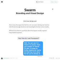 Swarm: Branding and Visual Design