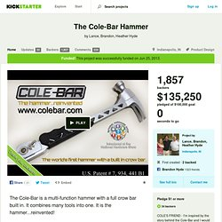 The Cole-Bar Hammer by Lance, Brandon, Heather Hyde