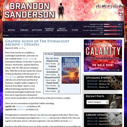 Brandon Sanderson: The official site