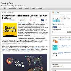 BrandOwner - Social Media Customer Service Platform