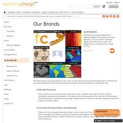 Fashioning Change ® - Do Good Fashion