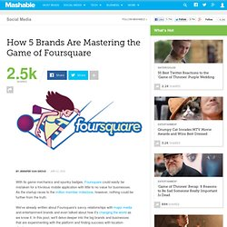 http://mashable.com/2010/04/02/foursquare-brands/