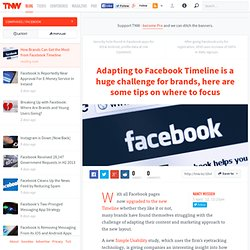 How Brands Can Get the Most from Facebook Timeline