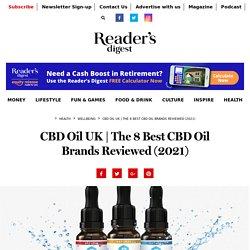 The 8 Best CBD Oil Brands Reviewed (2020) - Reader's Digest