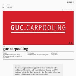 brandstiften » GUC Carpooling