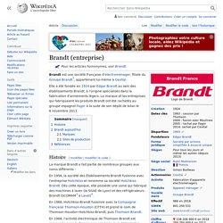 Brandt (entreprise)