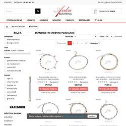 Wspaniałe srebrne bransoletki dla kobiet Najlepszy wybór mody w Polsce!
