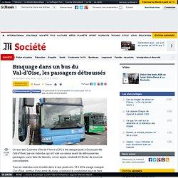 Braquage dans un bus du Val-d'Oise, les passagers détroussés