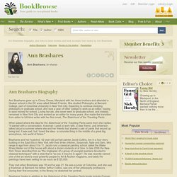 Ann Brashares biography, plus links to book reviews and excerpts.