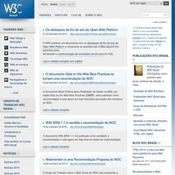 Brasil - World Wide Web Consortium Escritório Brasil