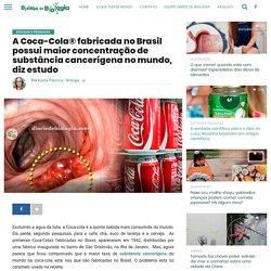 Coca-cola do Brasil tem maior taxa de substância cancerígena do mundo