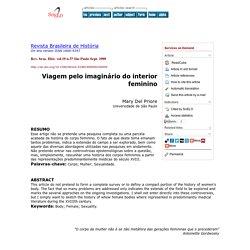 Revista Brasileira de História - Viagem pelo imaginário do interior feminino