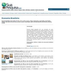 Economia Brasileira - dados, informações da economia do Brasil atual, resumo