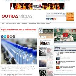 A água brasileira corre para as multinacionais