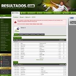 Brasileirão 2015 ao vivo, resultados Futebol Brasil - Resultados.com