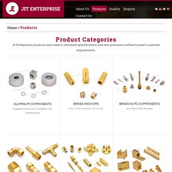 Brass Auto Components - Jit Enterprise