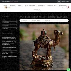 Brass Handicrafts at Best Price in India ! Zaveri Craft