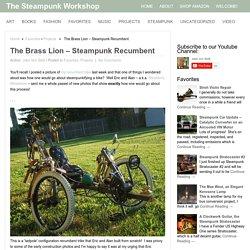 The Brass Lion – Steampunk Recumbent