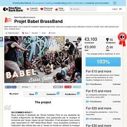 Projet Babel BrassBand présenté par Babel BrassBand