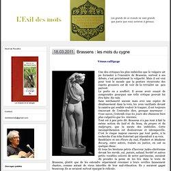 Brassens, poète érudit : L'EXIL DES MOTS