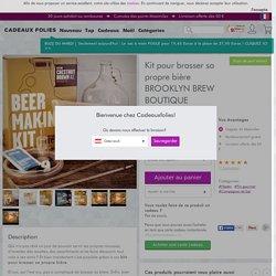 Kit pour brasser sa propre bière Brooklyn Brew Shop