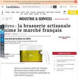Bières : la brasserie artisanale anime le marché français