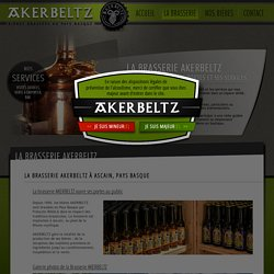 Bières basques artisanales Akerbeltz