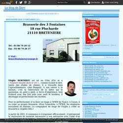 BRASSERIE DES 3 FONTAINES (21) - Le blog de Dom