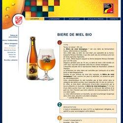 Brasserie Dupont - Bière biologique, Bière de miel bio