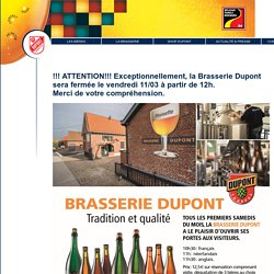 Brasserie Dupont - home