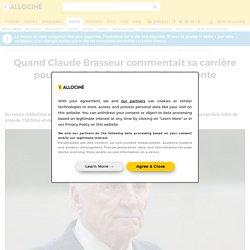 Quand Claude Brasseur commentait sa carrière pour AlloCiné, de Godard à Onteniente - Actus Ciné...