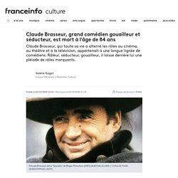 Claude Brasseur, grand comédien gouailleur et séducteur, est mort à l'âge de 84 ans...