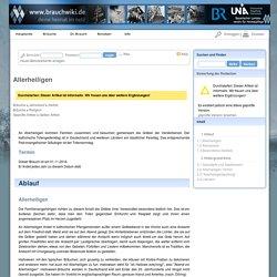 Brauchwiki - Allerheiligen
