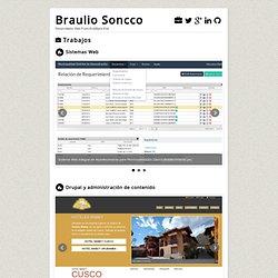 Braulio Soncco - Web Developer