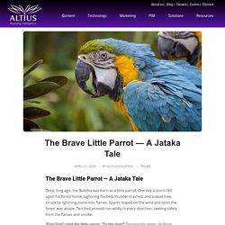 The Brave Little Parrot — A Jataka Tale