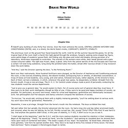 Brave New World by Aldous Huxley (etext)