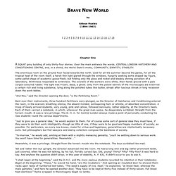 Brave New World by Aldous Huxley - StumbleUpon