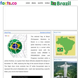 Brazil Flag colors - Brazil Flag meaning history