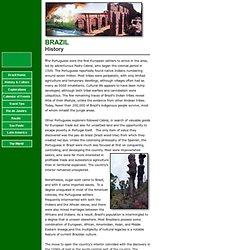 Brazil - History