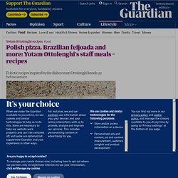 Polish pizza, Brazilian feijoada, Indian aubergine stew: Yotam Ottolenghi's staff meals – recipes