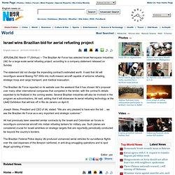 Israel wins Brazilian bid for aerial refueling project