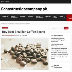 Buy Best Brazilian Coffee Beans