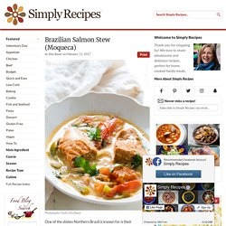 Salmon Fish Stew, Brazilian Style Recipe
