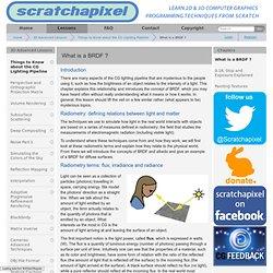 BRDF » www.scratchapixel.com
