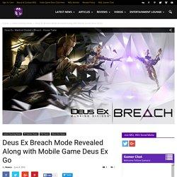 Deus Ex Breach Mode Revealed With Deus Ex Go for Mobile Devices
