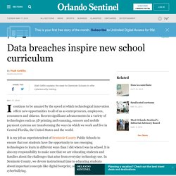 Data breaches inspire new school curriculum