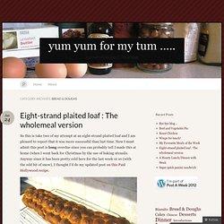 Bread & Doughs « yum yum for my tum .....