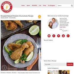 Breaded Baked Chicken Drumsticks Recipe