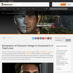 Breakdown of Character Design in Uncharted 4: A Thief's End