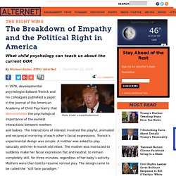 The Breakdown of Empathy and the Political Right in America